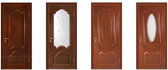 , Модели межкомнатных дверей со стеклом