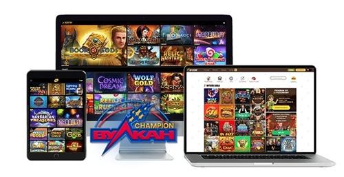 Адаптированное казино под различные устройства