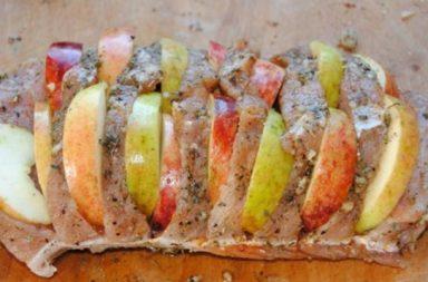 Рецепт свинины с яблоками